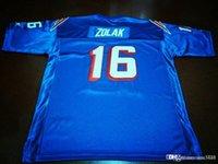 Özel Erkekler Gençlik kadınlar Vintage Scott Zolak # 16 Takım özel 1990 Futbol Jersey boyutu s-4XL Çıkarılmış ya da herhangi bir ad veya numara forması