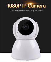 Caméra de surveillance 1080p WiFi Wireless Smart Webcam HD Night Vision Accueil Moniteur distant V380 CCTV Caméras IP