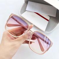 unglasses gafas de sol de gran tamaño de la lente del marco de la tortuga de la vendimia para las mujeres redondas retro sombras Gafas Gafas de sol 816
