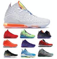 17 futuros 17s zapatos de baloncesto para hombre de las zapatillas de deporte para la alfombra roja 2K Sprite extraterrestres infrarrojos Harlem Moda fila I Promise blancos Zapatos de la zapatilla