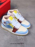 высокое качество 2020 Новый 1 High Mid Бесстрашный Баскетбольная обувь 11 Bred высвобождает в полной семьи замасливающей Mens женщин Модельер кроссовки