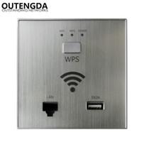 300 ميغابت في الثانية في الجدار نقطة الوصول اللاسلكية AP Router لمشروع الفندق Wi-Fi مصغرة Wifi Repeater Smart Home RJ45 USB WPS تشفير