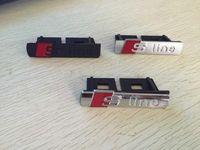 سيارة التصميم S Line Line Sline Front Grille Emblem Badge