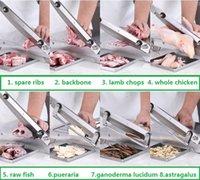 220V heiß Manuelle Huhn und Ente Gans Maschine Gefrorenes Fleisch Slicer Massives Edelstahlschneid Slicer
