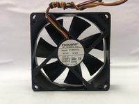 FOXCONN PV902512L DC 12V 0.16A 냉각 팬 90x90x25mm 서버를 3 입고 들어