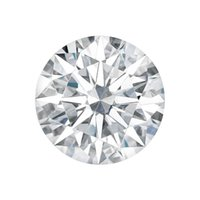 0.5CT Prueba Positiva como Real Diamante CHARLES COLVARD Marca 5.0 mm Forma Redonda VS1 G Color Moissanite Suelta Diamante Brillante