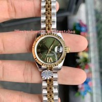 10 estilo Datejust Pearlmaster Ladies WristWatches WF 279171 279173 279175 279381 28mm ETA 2617 Movimento Mecânico Automático Feminino Relógios