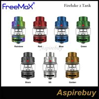 Original FreeMaX Fireluke 2 Tank Vape 5 ml Atomizador Con TX2 Malla Bobina Cabezal Ajuste para Twister 80W Mod 510 Caja Mod Ecigarette electrónico