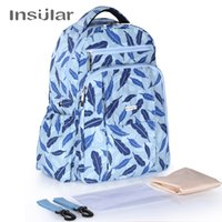 Insular FeatherBlue Mummy Bag Nylon Material Large Space Mul...
