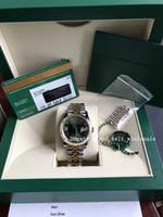 2020 Säljer Ladies Watch Factory DateJust 18K Guldstål 36mm Kvinnor Klocka 278273 Asien Mekanisk Automat Green Mirror Diamond Rom