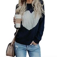 Fashion Autumn Womens O- Neck Pullover Sweaters Streetwear Re...