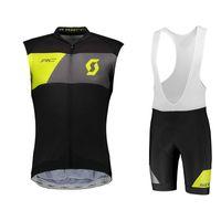 Scott Bisiklet Kolsuz Formalar Seti Mens MTB Bisiklet Giysileri Nefes Yarış Giyim Pro Takım Yol Bisikleti Giymek Ropa Ciclismo 030501