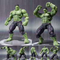 NEW hot 16cm avengers Super hero hulk movable action figure ...