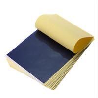 25 قطعة / الوحدة 4 طبقة الكربون الحرارية الاستنسل الوشم نقل ورقة نسخة ورقة تتبع المهنية الإمدادات الوشم التموين
