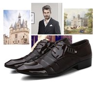 Spring new men' s business dress shoes men' s grooms...