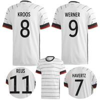 رجل 2021 ألمانيا المنزل لكرة القدم جيرسي هامليلز كروس فيرنر مولر ريوس قميص كرة القدم غوتز ساني خضيرا Boeneng مايلوتس