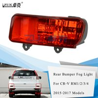 ZUK автомобиля Стайлинг Brand New Left Right Задний бампер Отражатель задний Противотуманные фары противотуманной фары для HONDA CRV 2015 2016 RM1 RM2 RM3 RM4