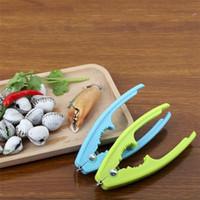 Multifunktionale Küchenutensilien Muschel mit Blut Muschel Zange Schalentiere Meeresfrüchte Essen clip Prozessor Muschel opener T3I5671