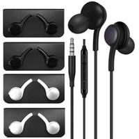 Evrensel 3.5mm Jack Kulaklık Kulak Ile Mikrofon Kulaklık Kulaklık Kulakiçi Samsung Galaxy S8 S10 S9 Için Kulaklık