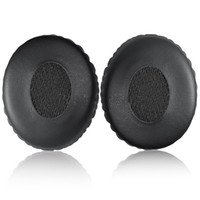 Black Ear Pads Replacement Ear Pads Cushions Soft Foam Earpa...