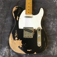 Custom Shop, clásicos reliquias de la guitarra eléctrica por Tele manos. personalización apoyo. 100% hecho a mano Tl Limited Guitarra Edición