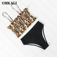 OMKAGI Brand Bikinis Women Swimsuit Swimwear Women Maillot De Bain Femme Sexy Push Up 2020 Bikinis Set Bathing Suit Beachwear