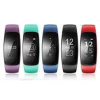 Orginal HR Herzfrequenz-Smart-Armband-Monitor ID107 Plus-Armband Gesundheit Fitness-Tracking für Android iOS Smart Watch