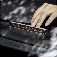 Oryginalny Xiaomi YouPin Base Tica Tymczasowy Stop Znak Kartki Parking Samochód Montażowy Montaż Numer Przenieś Płyta dzienna Stereo Dwa 3006718Z3