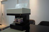 뜨거운 공장 자동 전자 제품 1 컵 4 컵 라떼 케이크 쿠키 셀프 아트 음식 프린터 식용 잉크 꽃 커피 프린터