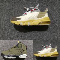 TS Crianças 27c Running Shoes TS Cactus Jack 6s Shoes Big Boy meninas Basquetebol verde-jovens instrutores Sapatilhas