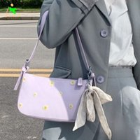 High Quality Shoulder Bag Daisy Baguette Underarm Bag Women's Elegant Bag New Summer Design