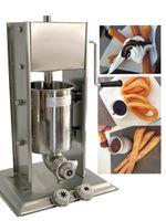 el envío libre 304 de acero inoxidable 3L España churros Máquina con 3 Tamaño de la flor NÚCLEO