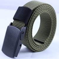 أحزمة الجيش رجال الجيش حزام قابل للتعديل حزام الرجال في الهواء الطلق السفر التكتيكي الخصر حزام مع مشبك من البلاستيك لسروال