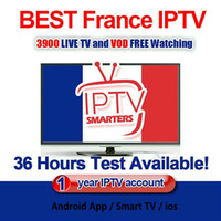 France Iptv Smarters With 1 Year Subscription Covering 30+ C...