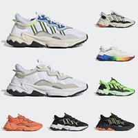 New Ozweego men women running shoes Bold Orange Cloud white ...