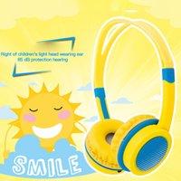 85 дБ порезы дети над ушами проводные наушники благополучно детские наушники регулируемые повязки компьютерный планшет ребенок в возрасте 4-12 наушников