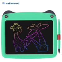 LCD الكتابة اللوحي 9 بوصة الرسم الرقمي مجلس الكتابة اليدوية الالكترونية الوسادة رسالة الرسومات للأطفال ممحاة السبورة الأطفال هدايا وألعاب