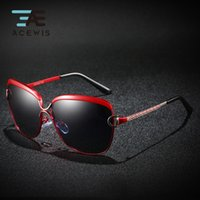 ACEWIS 2019 New Arrival Polarized Sunglasses Women Retro Gla...