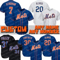 7 Maillot Marcus Stroman New York Mets 20 Pete Alonso 24 Robinson Cano 52 Yoenis Cespedes 34 Noé Syndergaard 48 Jacob DeGrom 52 Yoenis Cespe