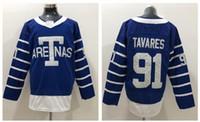 Toronto Maple Leafs # 34 Auston Matthews Blue 1918 Arenas Stitches Jersey, 43 Kadi 44 Rielly 29 Nylander 93 Gilmour 9 Jersey de hockey 93