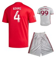 19 20 New York Red Soccer Jersey Shorts 2019 2020 WRIGHT- PHI...