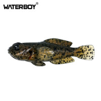 Новый дизайн 75мм бычок Soft 9,3 г Приманка 0.33oz 3inch рыбы Приманки Swimbait Finest Детальный OEM Рыбалка Softbait завод