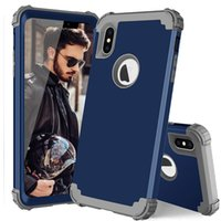 Hybird 3 in 1 defender case for iphone 7 6s plus xs max Armo...