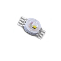 10X Promotion high quality 4W RGBW LED lamp bead 8 pin rgbw ...