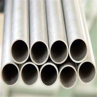 Tubería de titanio gr1 / 2 38 mm / 57 mm / 63 mm / 76 mm / 89 mm / 102 mm / tubo de escape Tubo industrial de pared delgada