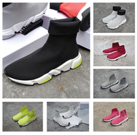 20ss Speed Runner Knit Sock Shoe Top Quality Brand Designer ...