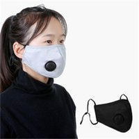 Suministros para la fiesta PM2.5 Mascarilla Mascarilla Mascherina de niños Adultos Anti Droplet Aire libre Respiradores Mascarillas de la cara de la primavera caliente con la válvula de respiración 10LJ E1