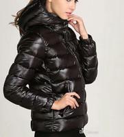 Francia Marca Donna Inverno Casual Piumino Down Cappotti Donna Outdoor Collo in pelliccia Calda Piuma vestito Inverno Cappotto outwear Giacche M009