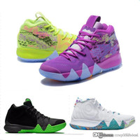 Kyrie IV Confetti Multicolor BHM GLEICHHEIT All-Star March Madness Stadtwächter London Mamba Basketball 4 Schuhe
