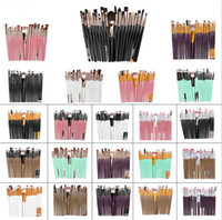 New Health 20Pcs set Professional Makeup Brushes Set Powder ...